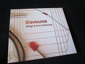 GAVOUNA-Stings-amp-Dum-Machines-CD-DIGIPAK-DOWNTEMPO-ABSTRACT-PLAID-AUTECHRE