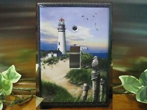 Lighthouse on the bay light switch wall plate cover lh01 for Lighthouse switch plates