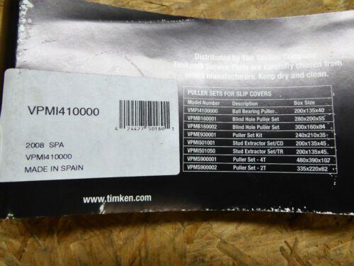 Timken Ball Bearing Puller Set VPMI410000