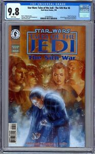 Star Wars: Tales of the Jedi The Sith War #6 CGC 9.8 1st Mandalore the Ultimate