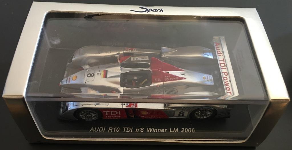 1 43 43 43 Spark Audi R10TDI Team Joest no 3 Le Mans 2006 Biela-Pirro-Werner 6014bc