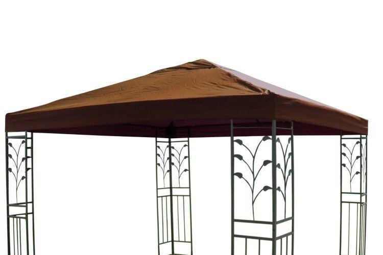 Techo de repuesto para jardín cenador Cochepa cenador de 3 x 3 m cubierta de repuesto impermeable Taupe