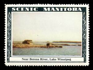 Canada - Promotional Poster Stamp - Scenic Manitoba - #16 - 1941
