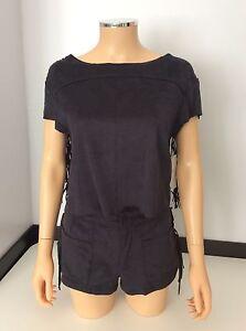 12da7aebd4 ZARA women's Brand New 2 Piece Set Shorts Top Tassel Size S Small Uk ...