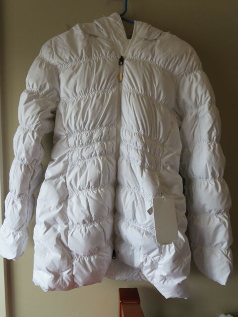 Womens New North Face Cryos Stretch Down Jacket Sz Small Color TNF White 548bf1386