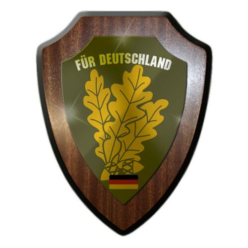 Wappenschild Jägertruppe Für Deutschland Jaäger BW Bundeswehr Heimat JgBtl#24767