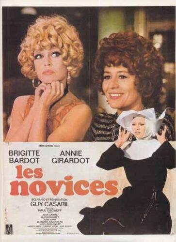 Les novices Brigitte Bardot Movie poster