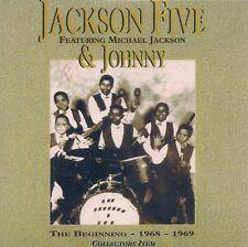 CD PROMO 13 TITRES--JACKSON FIVE FEAT MICHAEL JACKSON--THE BEGINNING 1968-1969