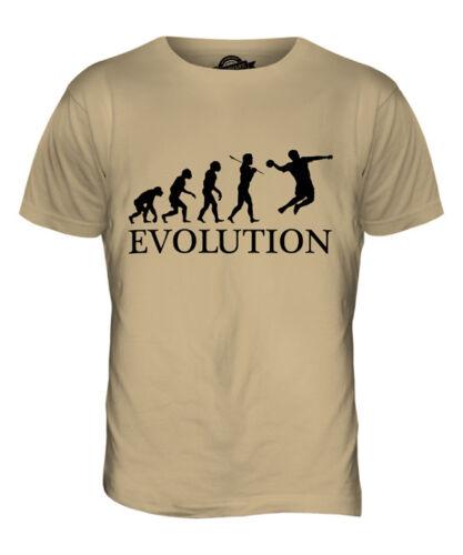 HANDBALL EVOLUTION OF MAN MENS T-SHIRT TEE TOP GIFT CLOTHING