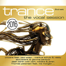 CD Trance the vocal session 2016 di Various Artists 2cds