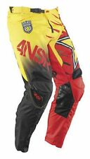 NOS ANSWER 458741 A15 ROCKSTAR PANTS RED YELLOW SIZE MENS 32
