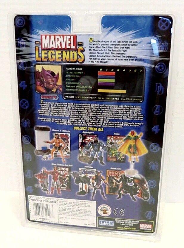 NEW HAWKEYE MARVEL MARVEL MARVEL LEGENDS SERIES VII 7 AVENGERS TOY BIZ 2004 FIGURE (RARE ) 0da6e3