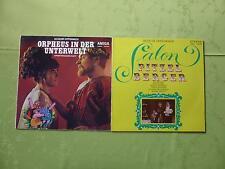 "Jacques Offenbach - ""Salon Pitzel Berger"" & ""Orpheus in der Unterwelt"" ( 2 LP )"