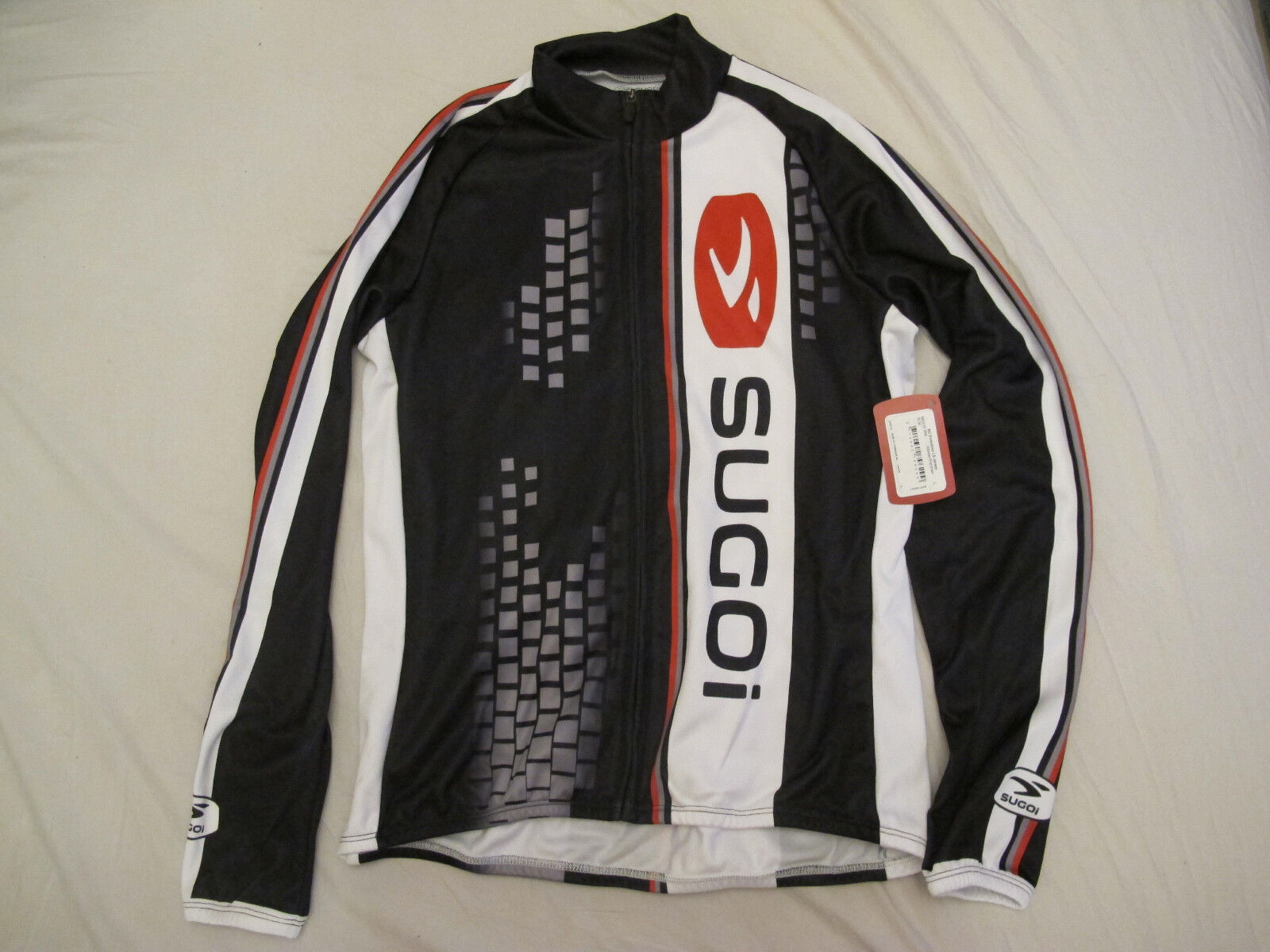 Sugoi Evolution Jersey Large (L) Full Zipper Women Long Sleeve NEW with tags