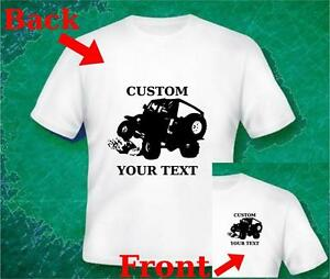 Custom your text t shirt on sale jeep cherokee for Custom t shirts for sale