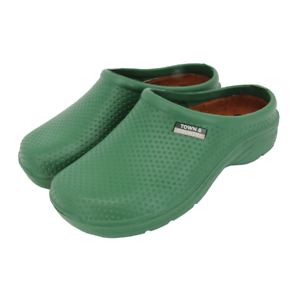 Town /& Country Green EVA Cloggies Lightweight Garden Shoe UK Size 7