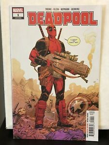 2018 Deadpool #1 NM Skottie Young Variant Cover VF+