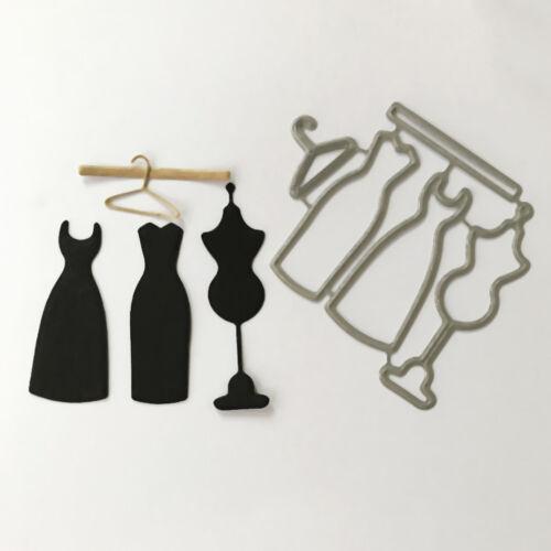Dress hanger Design Metal Cutting Die For DIY Scrapbooking Album Paper Card  IU