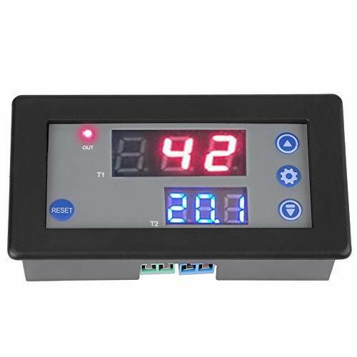 12V-24V-Relaismodul DC-Multifunktions-Digital-Timer-Zeitrelais-Zeitschaltuhr…