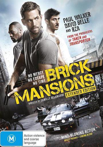 Brick Mansions : NEW DVD