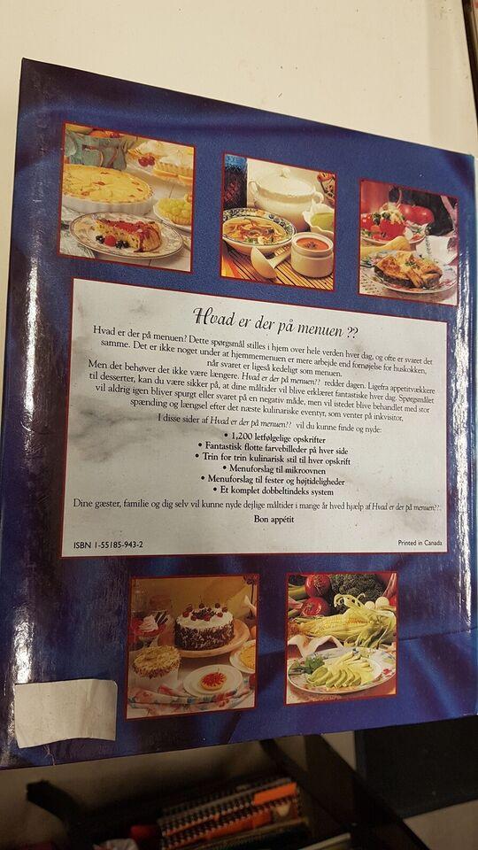 Hvad er der på menuen , bind 2, emne: mad og vin