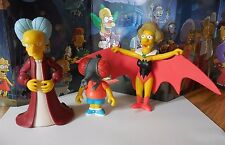 THE SIMPSONS FIGURE LOT TREEHOUSE OF HORROR DRACULA HALLOWEEN
