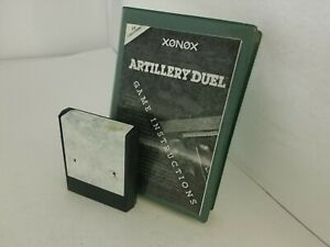 Artillery-Duel-Game-Colecovision-WITH-Torn-label-Cartridge-amp-INSTRUCTIONS-N25