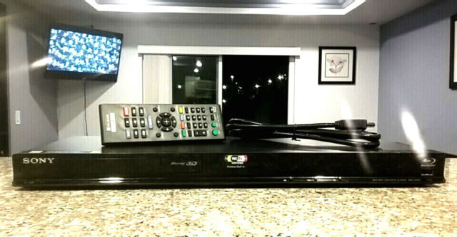 SONY 3D BLU-RAY Disc Player Model BDP-S580 WiFi HDMI DVD w/ remote Free  Shipping