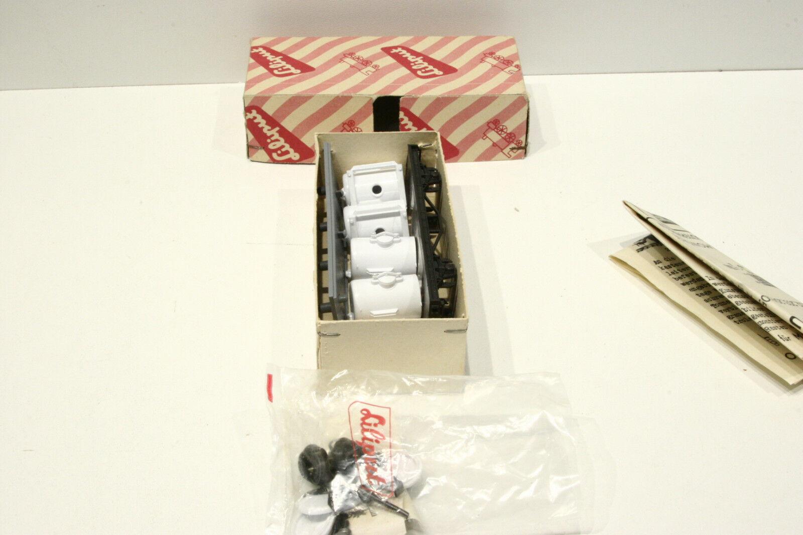 Liliput costruzione modulare, 205 e 221, ungebaut, ungebaut, ungebaut, la scatola originale, 1 istruzioni 058549