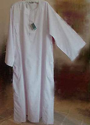 Traditional Mens Al Othaiman Sudani Islamic Arabian No Collar Dishdasha Thobe