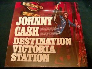 Johnny Cash Destination Victoria Station 1977 Columbia