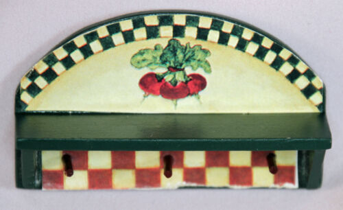 Concord Robin Betterley/'s Harvest Home Collection Dollhouse Miniature Wall Shelf