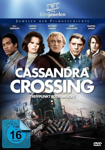 CASSANDRA CROSSING - TREFFPUNKT TODESBRÜCKE   DVD NEW