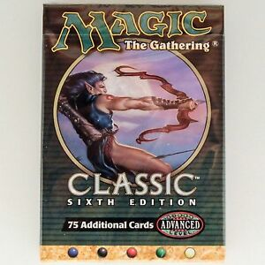 MTG CLASSIC 6th EDITION Factory Sealed Tournament Pack - Starter Deck - English