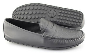 ba5e86ad8 Men's GUCCI 'Kanye' Black Leather Loafers Size US 11.5 GUCCI 10.5   eBay