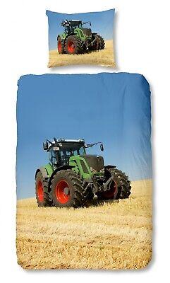 Bettwäsche 4208 Tractor Trecker Traktor Bulldog Feld Baumwolle Waren Des TäGlichen Bedarfs Good Morning Bettwaren, -wäsche & Matratzen Bettwäschegarnituren