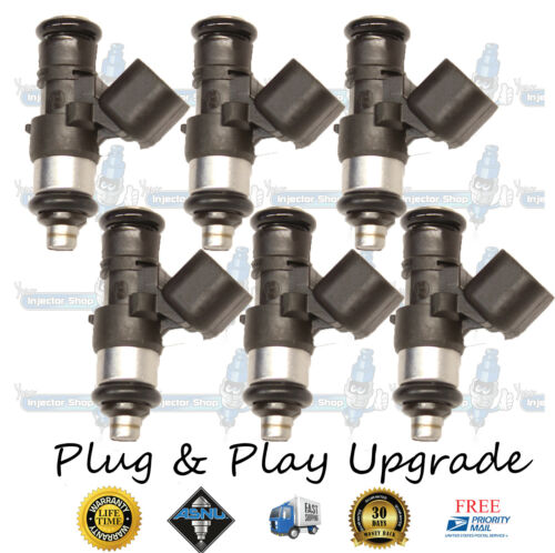 4 Hole Bosch Upgrade Ford Mercury Mazda Lincoln 6x Fuel Injectors OEM 0280158091