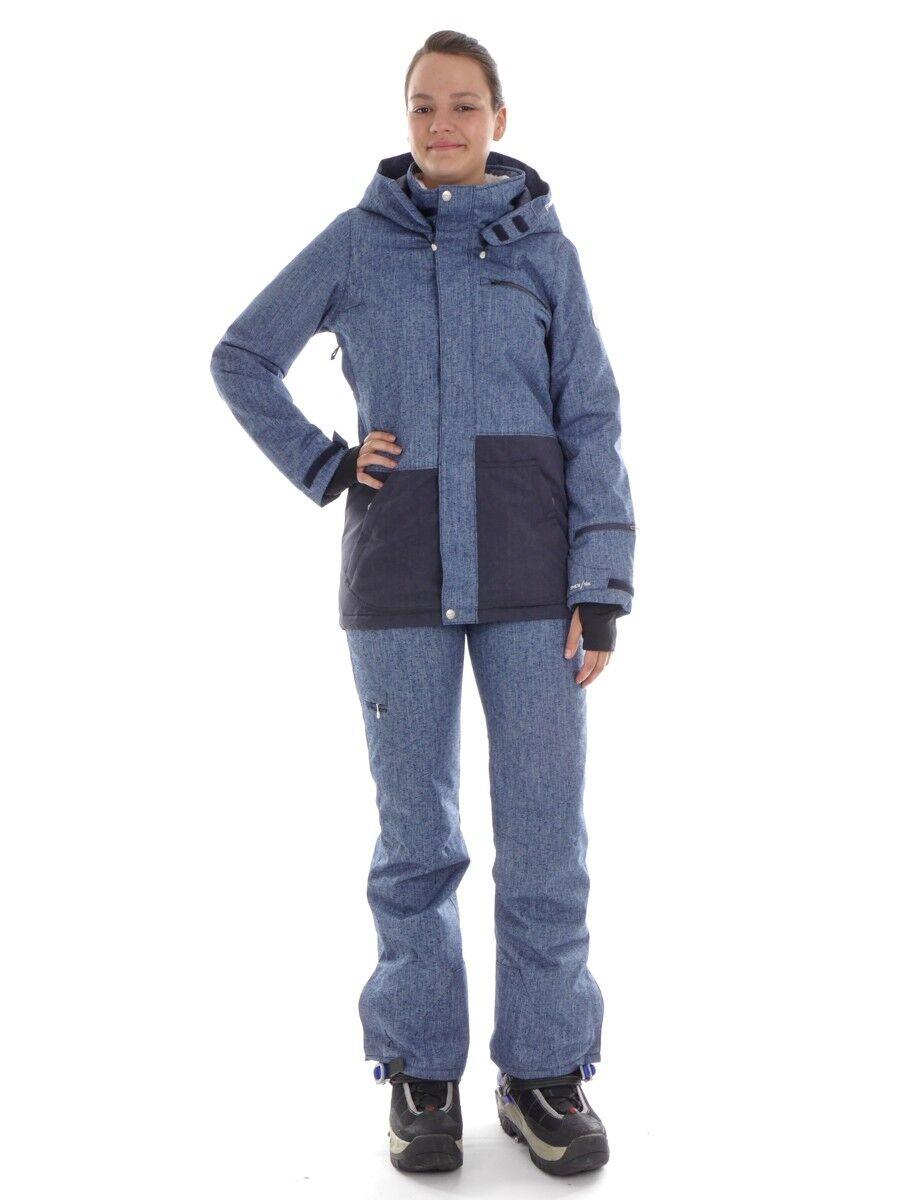 Brunotti Skihose Snowboardhose Winterhose blau metallic Halyard metallic blau 10k 7db01f