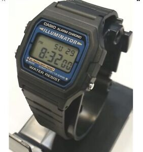 Details about Casio Digital Mens Watch Illuminator digital Classic F105 Vintage New W Box