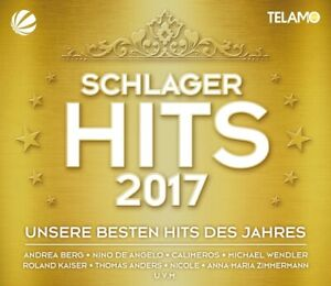 SCHLAGER-HITS-2017-ANDREA-BERG-MICHAEL-WENDLER-THOMAS-ANDERS-3-CD-DVD-NEW