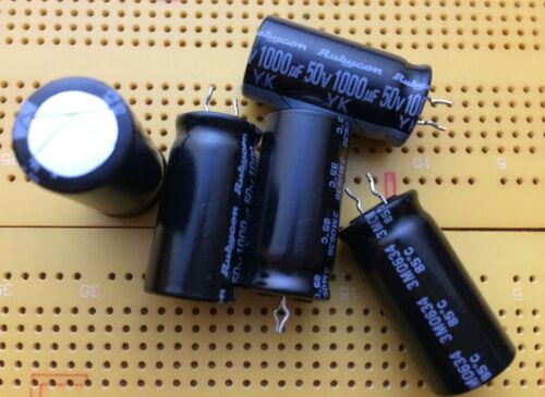 50 V 820uF 1000uF 1200uF 2200uF aluminio los condensadores radial