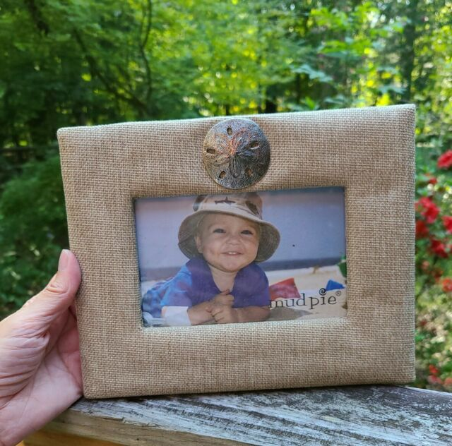 Mud Pie Top Dog Picture Frame