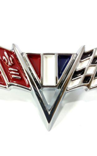 Nova Chevelle Fender Trim Flag Emblems For 1964-67 Chevy Impala /& Camaro