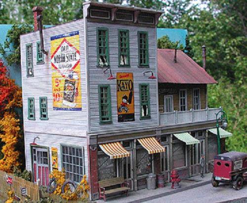 BAR MILLS BUILDINGS 882 HO The Gravely Building Model Railroad Kit FREE SHIP