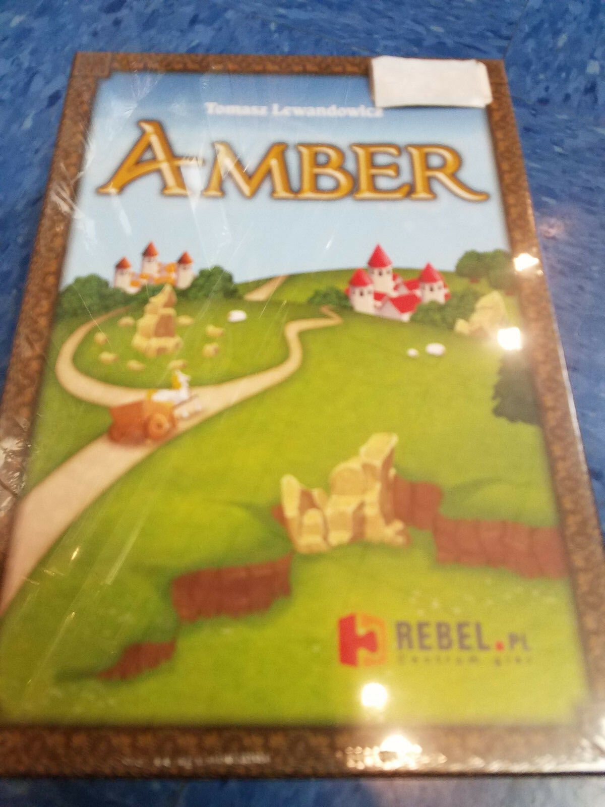 Amber - Rebel Games Board Game Game Game New 19e876