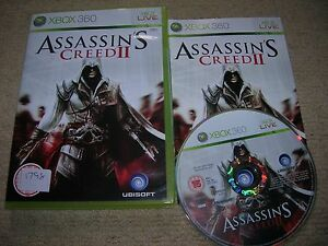 ASSASSIN-S-CREED-II-Rare-XBOX-360-Game