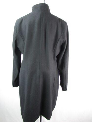 Volants L Manteau T Femmes à Trim Taille Tahari Noir OqXpzf8q