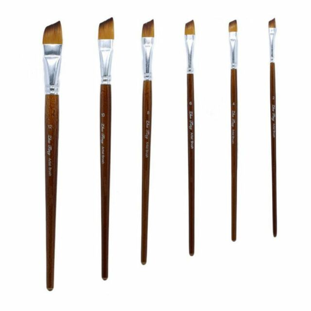1X(ZhuTing Nylon Hair Artist Brushes Watercolour Actylic Oil Painting Paint D6O6