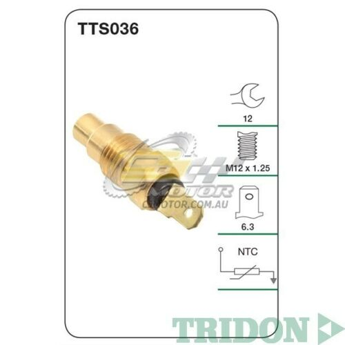 TRIDON WATER TEMP FOR Nissan Pathfinder 01//86-01//92 2.4L Z24 TTS036 Petrol