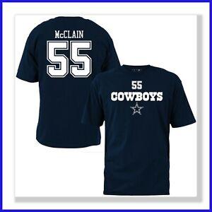 release date: dbc37 30a7c Details about Dallas Cowboys Rolando McClain #55 Men's T-Shirt Jersey shirt  S-XL New W Tags
